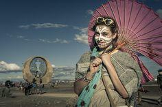 Afrika Burn in Colour by Stefan Olivier, via Behance