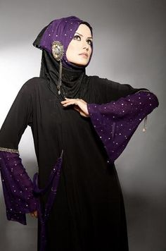 Here view Colorful abaya Designs.Abaya colors trends in 2012-2013.Stylish colors of abayas for all new and latest abaya designs visit http://fashion1in1.com/asian-clothing/colorful-abaya-collection-colors-in-abayas/