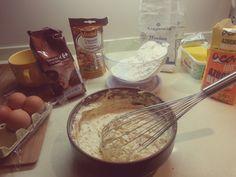 2. Make the dough.