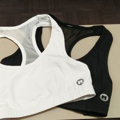 New Maximum Athletics Inc ladies sports bras arriving this week in black and white. #style #fitness #fitnessgear #sportswear #bodybuilding #bodybuilder #muscle #toronto #whitby #fitnesswear