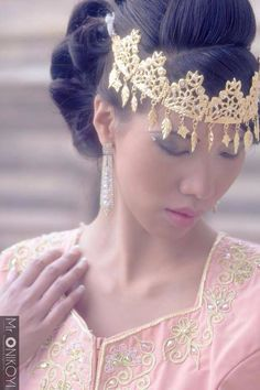 Algerian fashion: Traditional Algerian Headpiece
