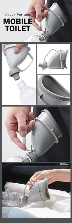 New Design Unisex Portable Mobile Urinal Toilet Car Camping Outdoor Journey Travel Urine
