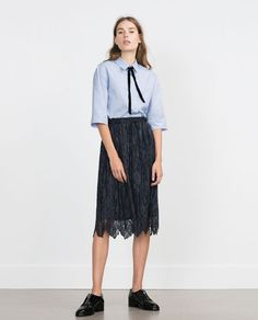 OXFORD SHIRT-Tops-WOMAN-COLLECTION AW15 | ZARA Israel