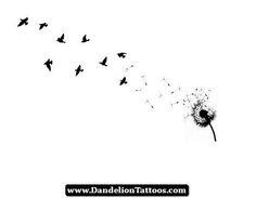 Dandelion Tattoos Symbolize 06 - http://dandeliontattoos.com/dandelion-tattoos-symbolize-06/