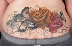 Lower Back Cover Up Tattoos Designs