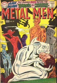 Dc Comics - Flash - Doc Magnus - Terrors - Forbidden Dimension - Ross Andru