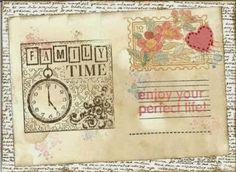 "My ""scrappy"" world E 10, Vintage World Maps, Handmade, Hand Made, Craft"