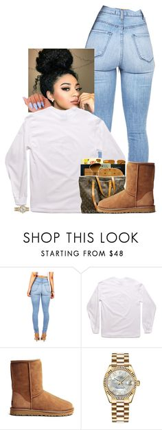 """Untitled #53"" by drakexlover ❤ liked on Polyvore featuring UGG Australia and Rolex"