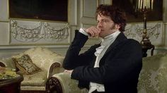 Darcy Photo: Colin Firth as Mr Darcy Colin Firth Mr Darcy, Mr. Darcy, Bbc, Jane Austen Movies, Elizabeth Bennet, The Best Films, Classic Literature, Film Music Books, Historical Romance