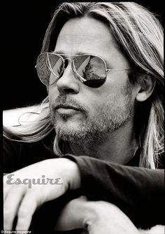 Un super-sexy Brad Pitt confessa 'Non ho mai avuto una vita più felice' » GOSSIPpando   GOSSIPpando