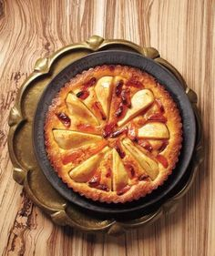 Pear and Apricot Tart recipe