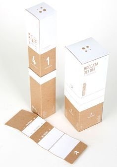 PACKAGING | UQAM: Boccata Dei Dei | Mathieu Daudelin