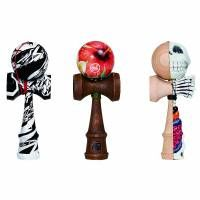 Almost every child that has grown up in Japan has seen a kendama, a wooden traditional Japanese toy consisting of a ken (sword) and tama (ball) connected b Japanese Toys, Japanese Language, Easter Ideas, Crayons, Games, Fictional Characters, Awesome, Children, Plays