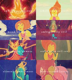 adventure time character tropes → Flame Princess