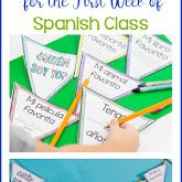 Tips for Starting Spanish Interactive Notebooks.Part 2 - Island Teacher Spanish Teacher, Spanish Class, Spanish Lessons, Teaching Spanish, Spanish Interactive Notebook, Interactive Notebooks, Cognates, Spanish Games, Spanish Speaking Countries