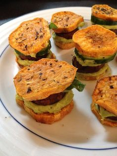 Yummy Sweet Potato Sliders!