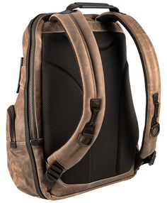 Alpha Bravo, Knox Leather Backpack - Tumi