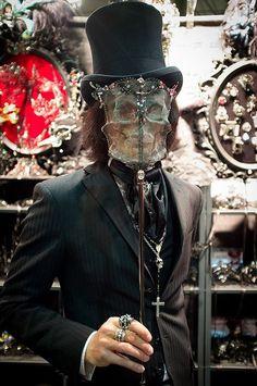 Pierre Leszczyk Empireart  #Dandy #Mask #Steampunk #Steamgoth #Fashion