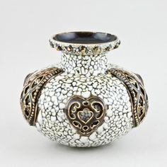 Zsolnay ékszertechnikás váza