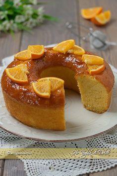 Ciambella all'arancia senza burro e senza lattosio sofficissima ricetta Ho Voglia di Dolce