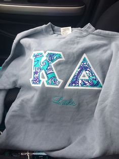 kappa delta big little sweatshirt gift need when im officially a little