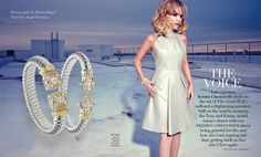 Television and Broadway star Kristin Chenoweth was featured in today's issue of Genlux Magazine wearing two stunning Vahan bangles! 22155D and 22126D by Vahan Jewelry #VahanCelebs #KristinChenoweth