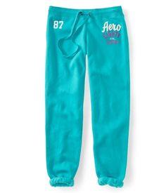 Aero 87 Heritage Cinch Sweat Pants - Aeropostale