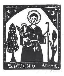 PEDIDO A SANTO ANTÔNIO * Santo Antônio é o primeiro Celebrado no sertão Entre os santos festejados Na ordem da tradição E...