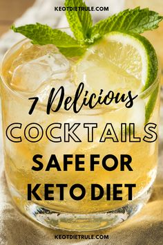 7 Must-Try Keto Cocktails This Summer 7 amazingly delicious cocktails safe and low-carb enough for k Best Healthy Diet, Healthy Balanced Diet, Healthy Diet Plans, Healthy Eating, Very Low Calorie Foods, Low Calorie Recipes, Calorie Diet, Keto Recipes, Low Fat Diet Plan