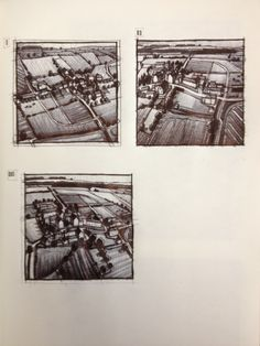 Sketches (biro) Fenrother commission - Jim Edwards