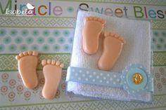 adornos de baby shower de toalla - Buscar con Google