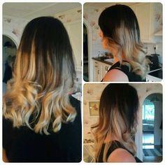 #Ombre #blonde #ombré #ombrehair #hair