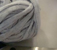 How to make t-shirt yarn #diy #yarn #reuse