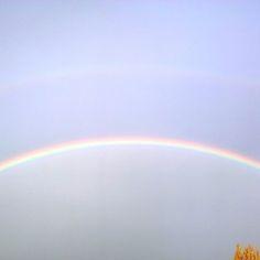 Rainbow over Bucharest