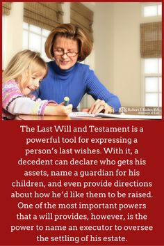 The Last Will and Testament is a powerful tool for expressing a person's last wishes. With it, a decedent can declare who gets his assets, name a guardian for his children, and even provide directions about how he'd like them to be raised. One of the most important powers that a will provides, however, is the power to name an executor to oversee the settling of his estate.
