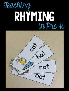 Teach Rhyming in Pre-K