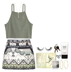 """""""Untitled #226"""" by jenn265 ❤ liked on Polyvore featuring Stila, Topshop, EF Collection, Moleskine, Rimini and Juicy Couture"""