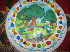 torta puffi 4 anni benny