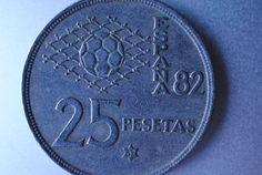 Spain 25 pesetas 1982