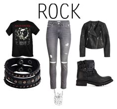 """rock on!"" by dark-soul-xd on Polyvore featuring Ash, H&M and Replay"
