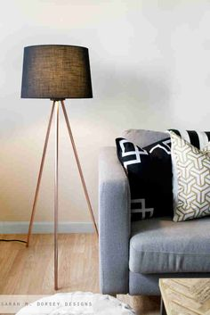 From coat racks to coffee tables, you can make just about anything with copper pipes.