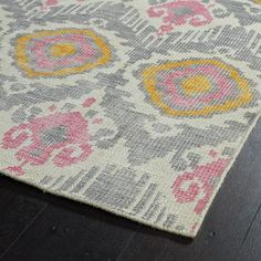 Masmoudi Hand-Knotted Grey Area Rug & Reviews   AllModern