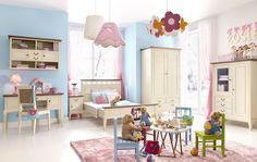 Kinderzimmer im Landhausstil: einfach wunderschön. #kinderzimmer #landhausstil #kindermöbel #kaufen