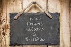 Free Presets, Actions and Brushes for Lightroom and Photoshop - Anthony Morganti