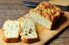 Recipe: Zucchini and Olive Breakfast Cake, French-Style