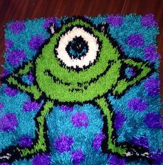 Monsters Inc Latch Hook Rug