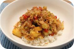Rijst met Kip, Paprika en Banaan