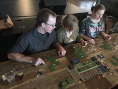 Hero's Crossing getting some love at The Stag's Head in downtown Raleigh. We're finding that breweries have lots of table space for big board games (plus beer). Where do you guys like to have your gaming groups play? #gaming Stag Head, Brewery, Board Games, Gaming, Hero, Play, Guys, Space, Big
