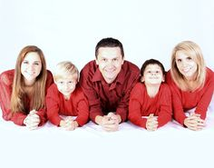 Your holiday family photo definitely won't look like this if you have broken pipes.