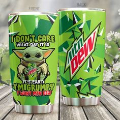 Vinyl Tumblers, Personalized Tumblers, Portable Blender, Weird Food, Mountain Dew, Insulated Tumblers, I Don't Care, Star Wars Characters, Pure Products